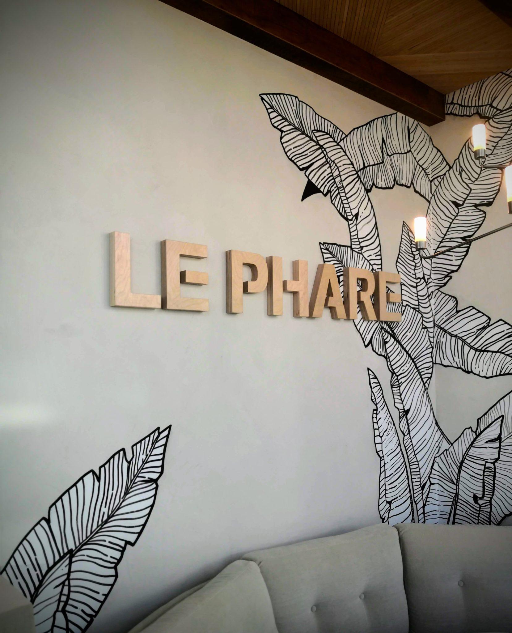 restaurant le phare fresque murale kosydeco peinture murale artistique